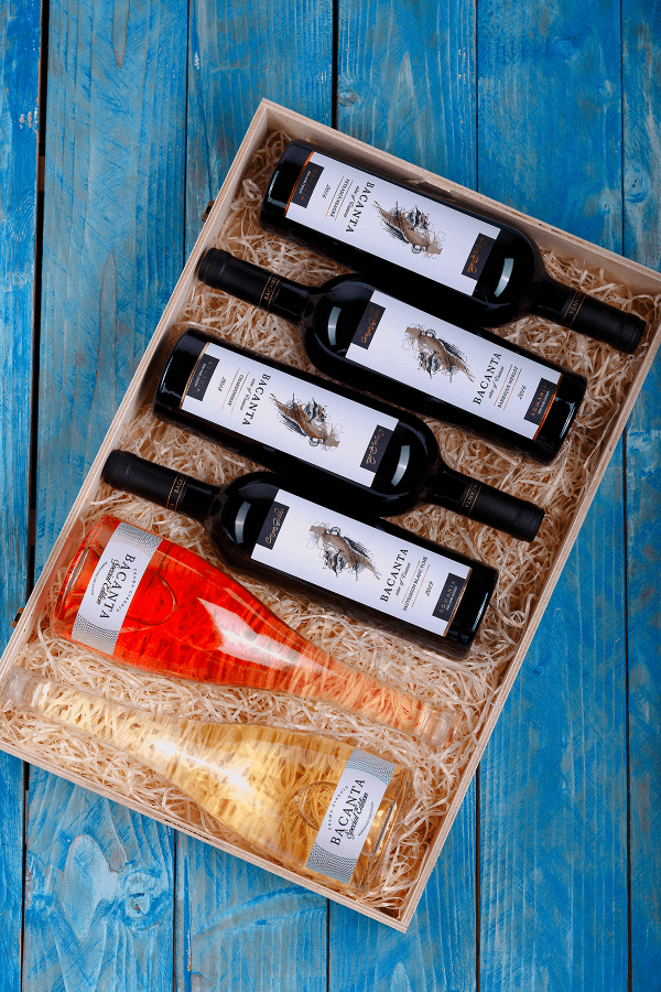 cutie vinuri bacanta