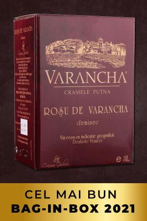 varancha Rosu de varancha 3l bag-in-box