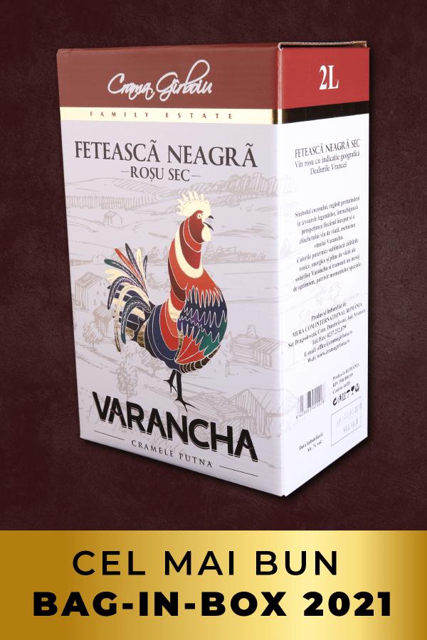 varancha feteasca neagra 2l bag-in-box
