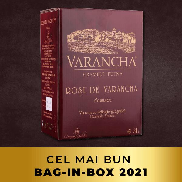 varancha Rosu de varancha 3l bag-in-box patrat