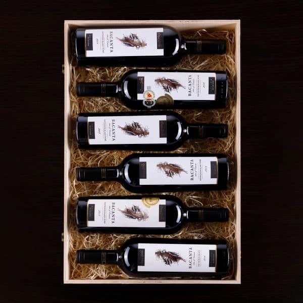 Verticala Bacanta Sauvignon Blanc fume patrat