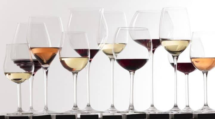 cum alegem paharele de vin